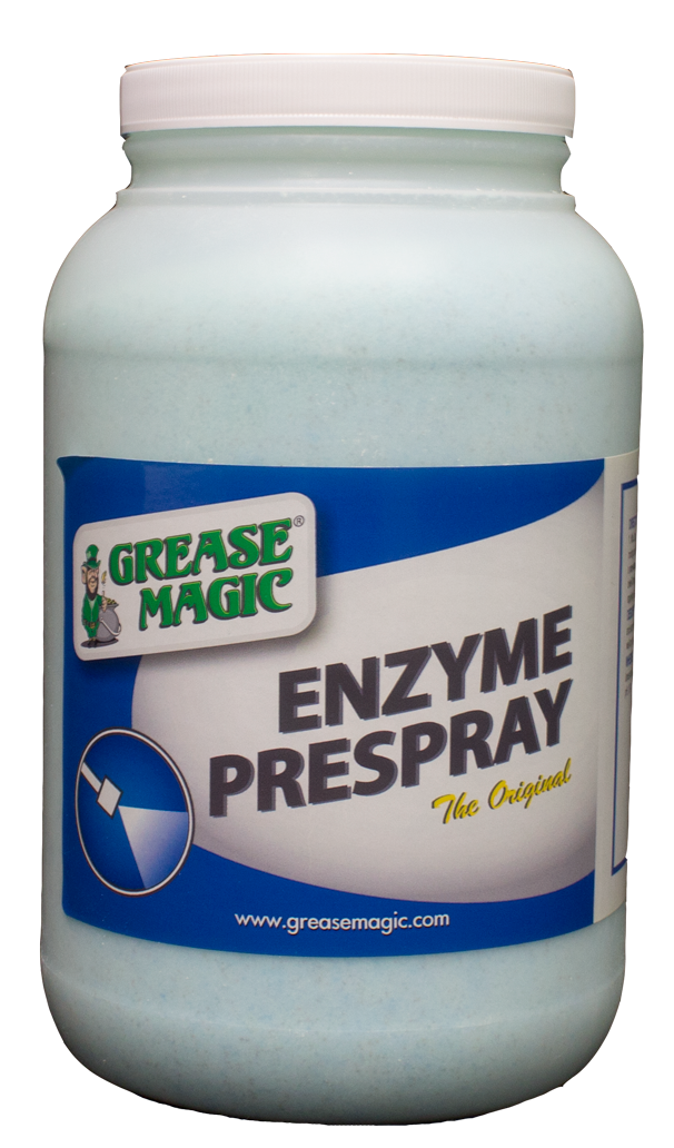 Enzyme Pre Spray Grease Magic Industrial Cleaning Supplies